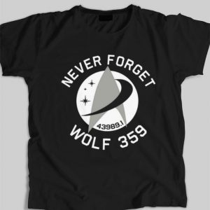 Wolf 359 Never Forget 43989 shirt