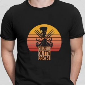 Wolverine Straight outta Area 51 shirt