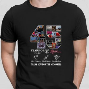 21 years of The Big Lebowski 1998-2019 signatures thank you for shirt
