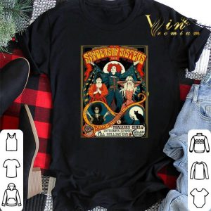 Hocus Pocus Sanderson Sisters back from live the dead Halloween shirt