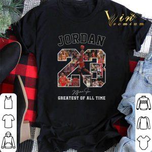 Signature Michael Jordan 23 greatest of all time shirt