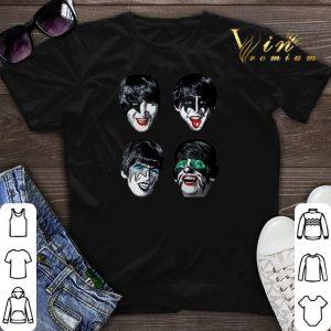 The Beatles kiss shirt sweater