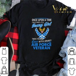 US Army Air Corps Once upon a time i was a sweet little young shirt