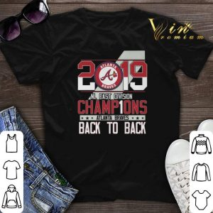 2019 NL East Division Champions Atlanta Braves back to back shirt sweater