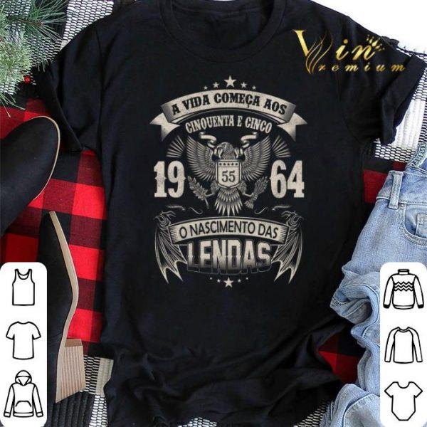 A Vida Comeca Aos Cinquenta E Um 1964 O Nascimento Das Lendas shirt sweater