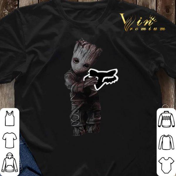 Baby Groot hug Fox Racing shirt sweater
