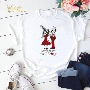 Beetlejuice Never trust the living shirt sweater 1