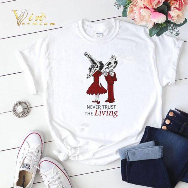Beetlejuice Never trust the living shirt sweater