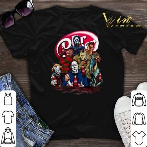 Dr. Pepper Horror movie characters shirt sweater