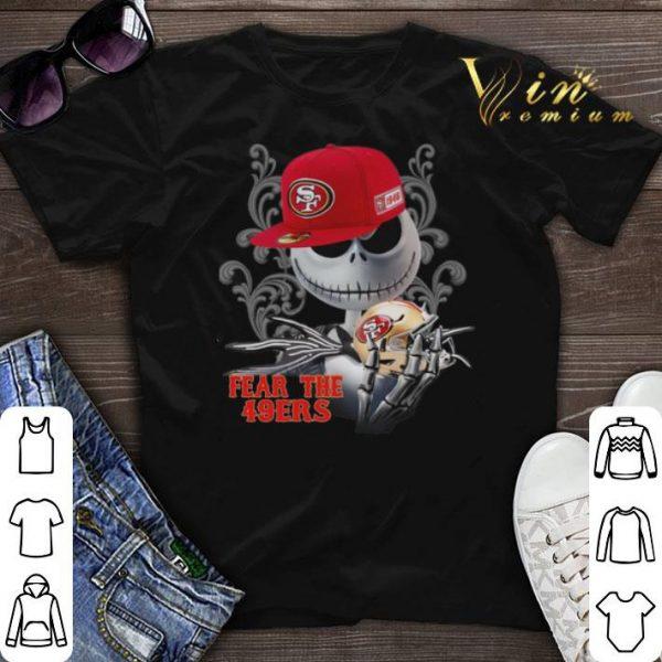 Fear the San Francisco 49ers Jack Skellington shirt