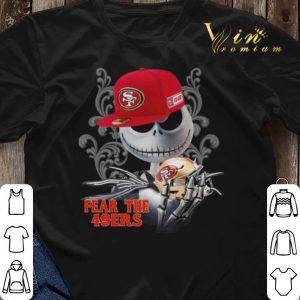 Fear the San Francisco 49ers Jack Skellington shirt 2