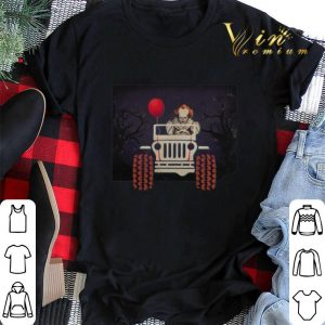 Halloween Jeep and Pennywise IT shirt