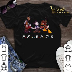 Mickey Mouse universe Friends horror movie characters shirt