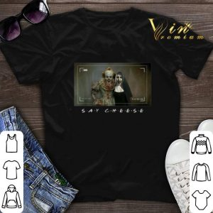 Pennywise and Valak say cheese shirt sweater