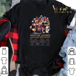 Signatures Houston Legends Est 1837 shirt