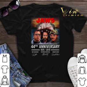 Signatures Jaws 44th anniversary 1975-2019 shirt