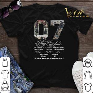 Thank You For Memories 07 Pretty Little Liars 2010-2017 7 season shirt