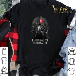 The King Of Halloween Pennywise shirt
