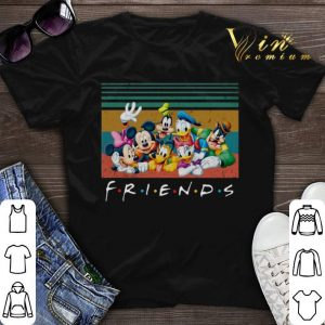 Vintage Friends Mickey Mouse universe shirt