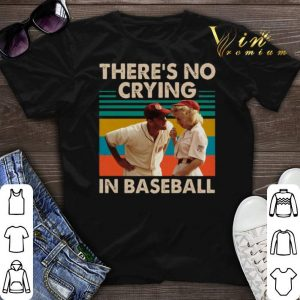 Vintage Tom Hanks There's no crying in baseball shirt