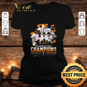 2019 American league champions Houston Astros signatures shirt 1