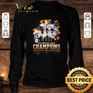 2019 American league champions Houston Astros signatures shirt 2
