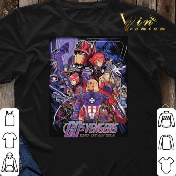 80s Avengers End Of An Era shirt sweater