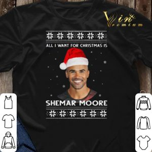 All I Want For Christmas Is Shemar Moore shirt sweater 2