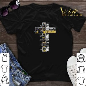 All I need today is a little bit of Steelers whole lot of Jesus shirt sweater