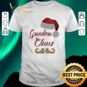 Awesome Claus Christmas Grandma shirt
