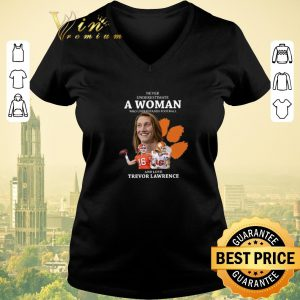 Awesome Never underestimate a woman football Trevor Lawrence shirt sweater