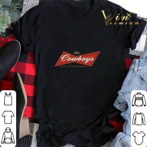 Budweiser Cowboys king of football shirt sweater