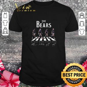 Cool Chicago Bears The Bears Abbey Road Signatures shirt