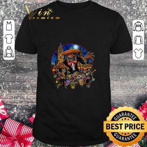 Cool Iron Maiden in the Mexico city event shirt