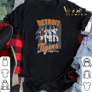 Detroit Tigers Dressed to Kill Kiss shirt sweater