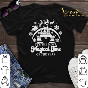 Disney It's The Most Magical Time Of The Year Christmas shirt sweater