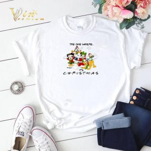 Disney characters the one where it's Christmas Friends shirt sweater