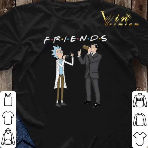 Friends Rick And Morty Archer shirt sweater