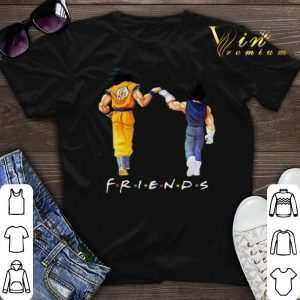 Friends Son Goku and Vegeta shirt sweater