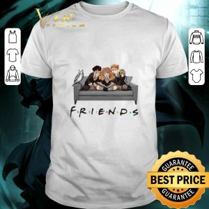 Friends TV Series Harry Potter Ron And Hermione shirt