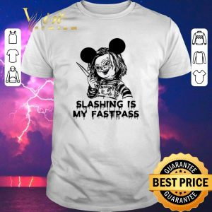 Funny Chucky Mickey Slashing is my fastpass shirt sweater