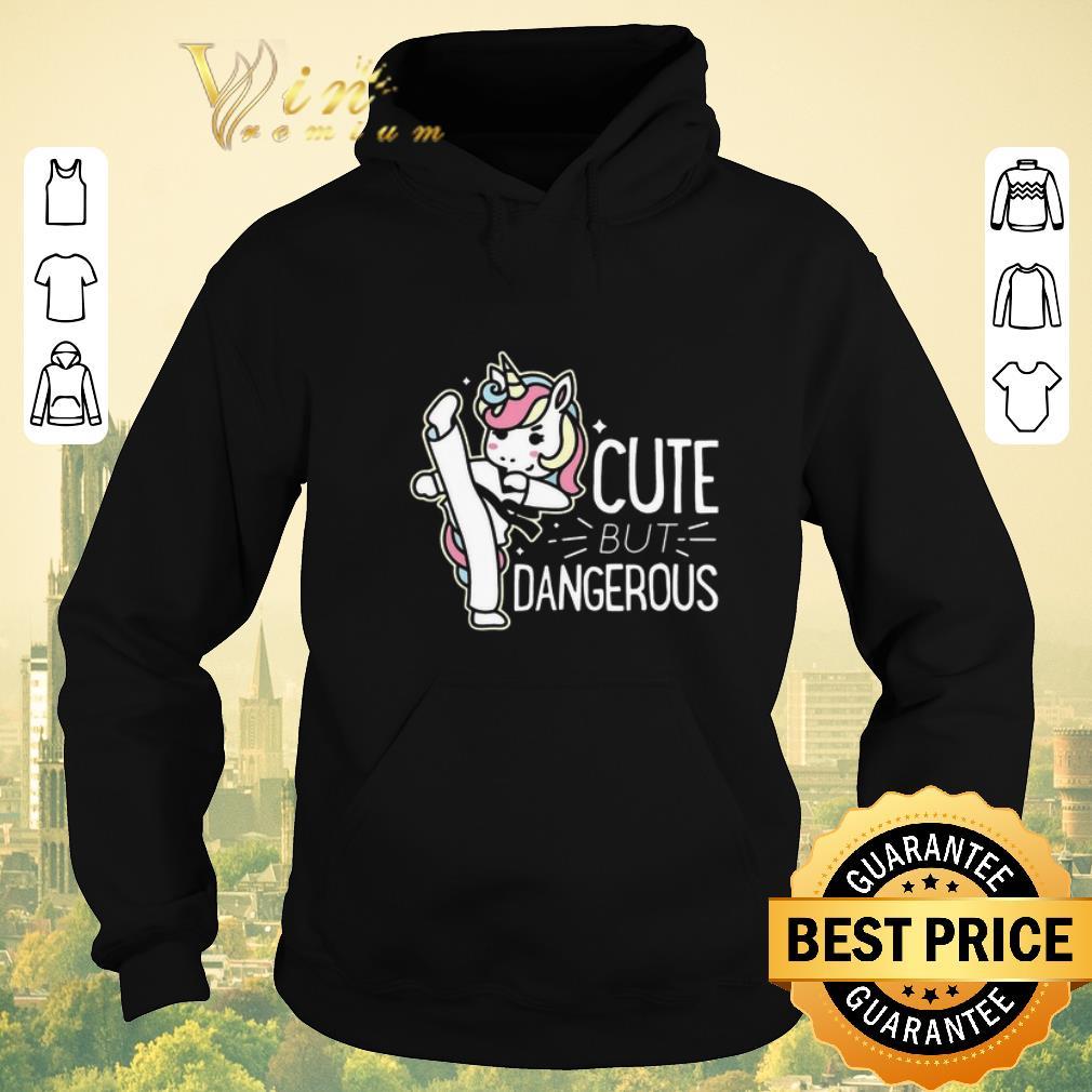 Funny Unicorn cute but dangerous shirt sweater 4 - Funny Unicorn cute but dangerous shirt sweater