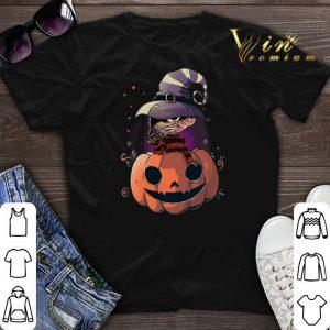 Halloween Freddy Krueger pumpkin shirt