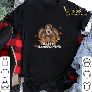 Happy Thanksgiving Turkey Mickey Mouse shirt
