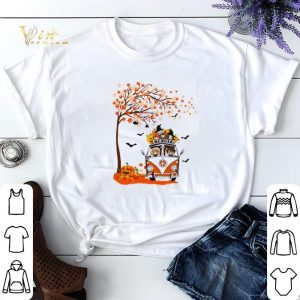 Harry Potter characters hippie car autumn leaf tree shirt sweater