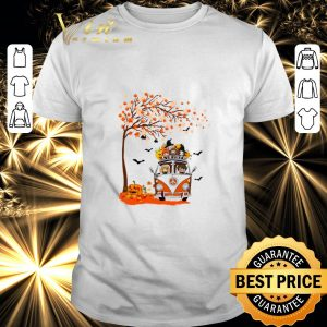Hot Harry Potter characters hippie car autumn leaf tree shirt