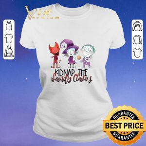 Hot Kidnap the sandy claws shirt sweater