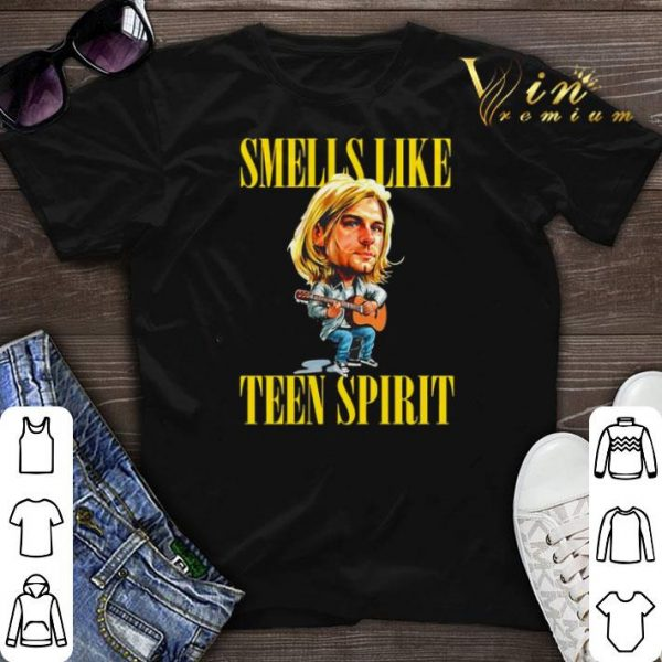 Kurt Cobain Nirvana Smells Like Teen Spirit shirt sweater