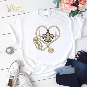 New Orleans Saints stethoscope shirt sweater