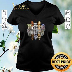 Nice Chibi Star Wars Characters Reflection shirt sweater